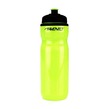 Sportbidon 0.7 liter Fluorgeel/Zwart